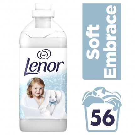Lenor Μαλακτικό Ρούχων Soft Embrace 1.4L (56 μεζούρες)